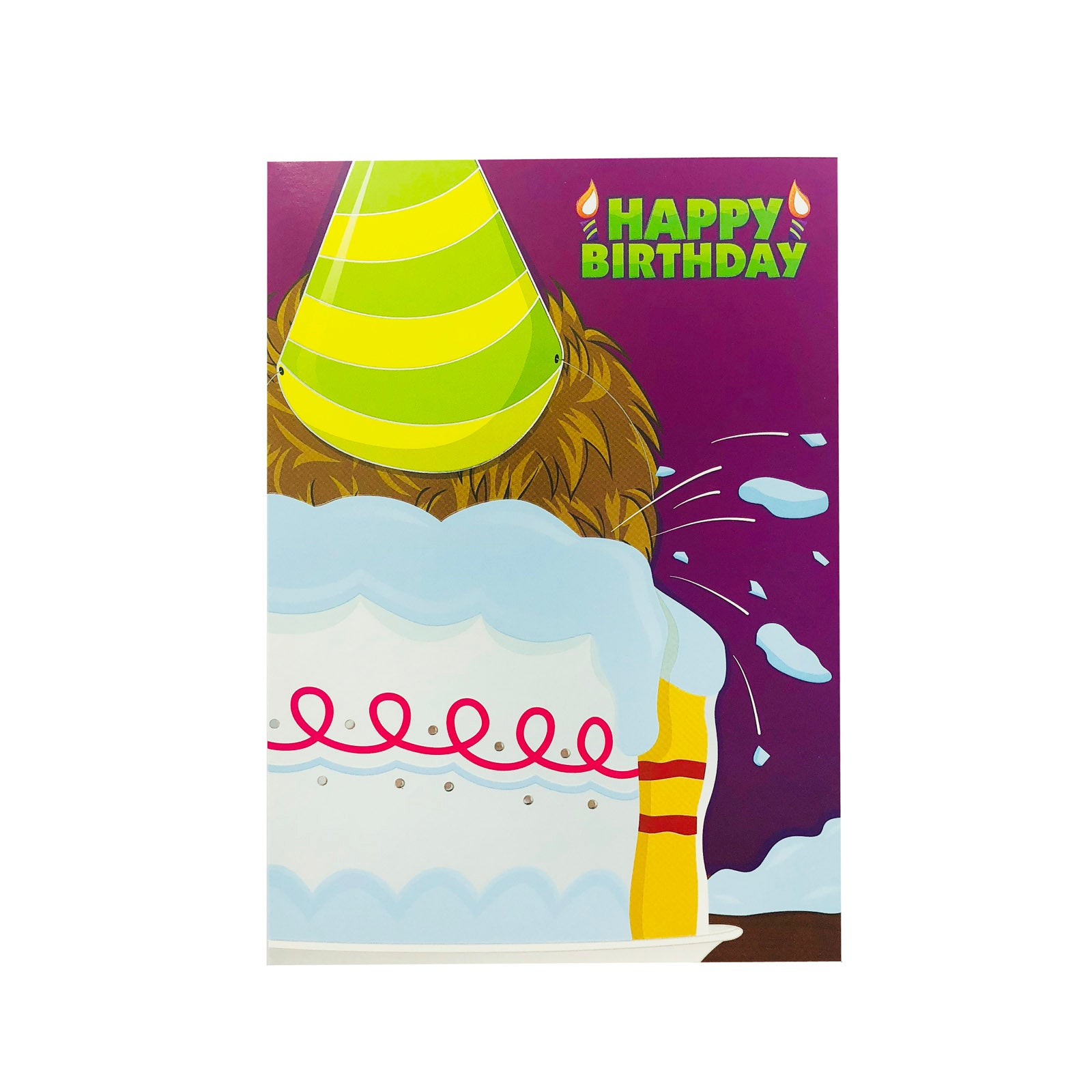 Designer Greetings Birthday Card - Happy Birthday - Cakes