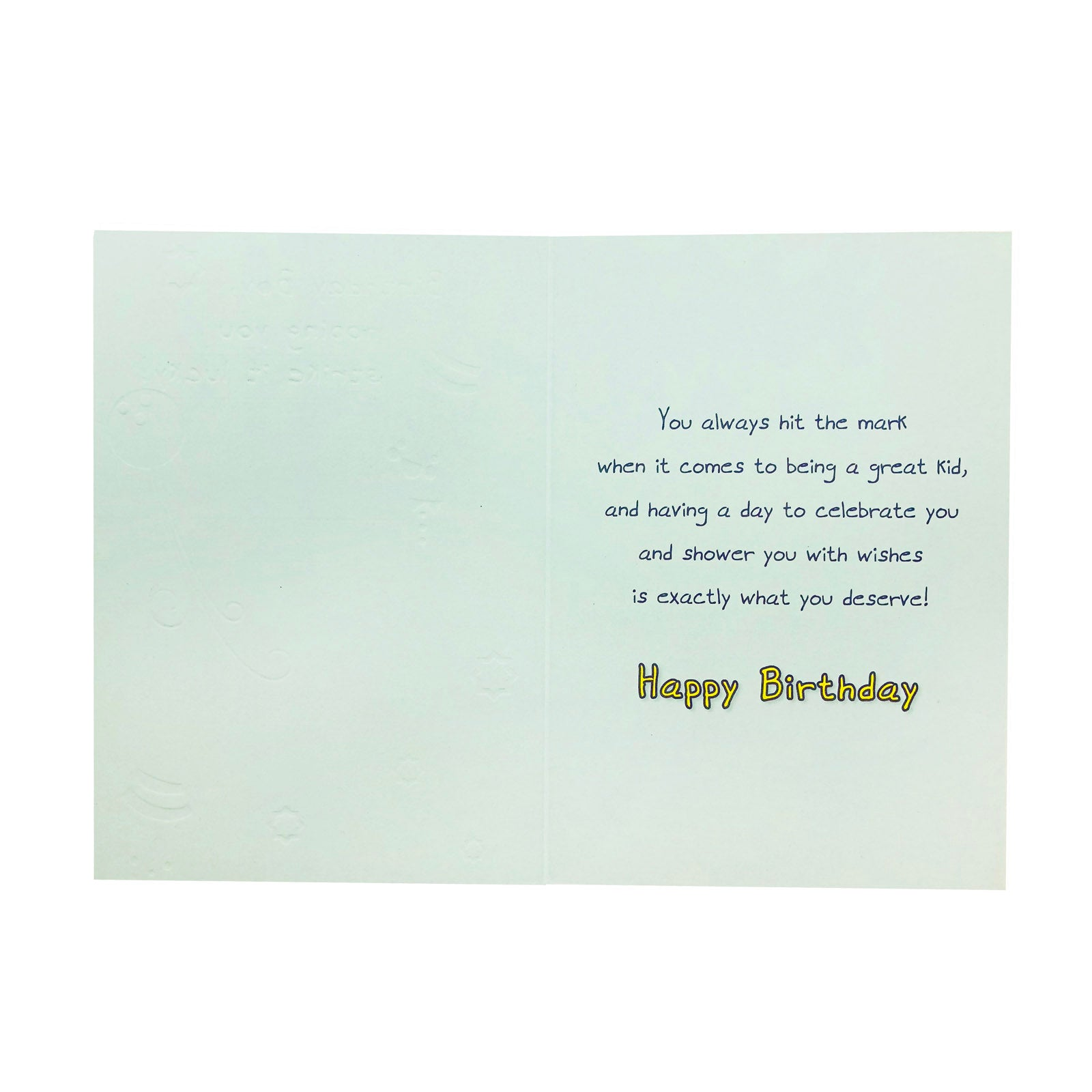 Designer Greetings Birthday Card - Strike It Lucky - Bowling
