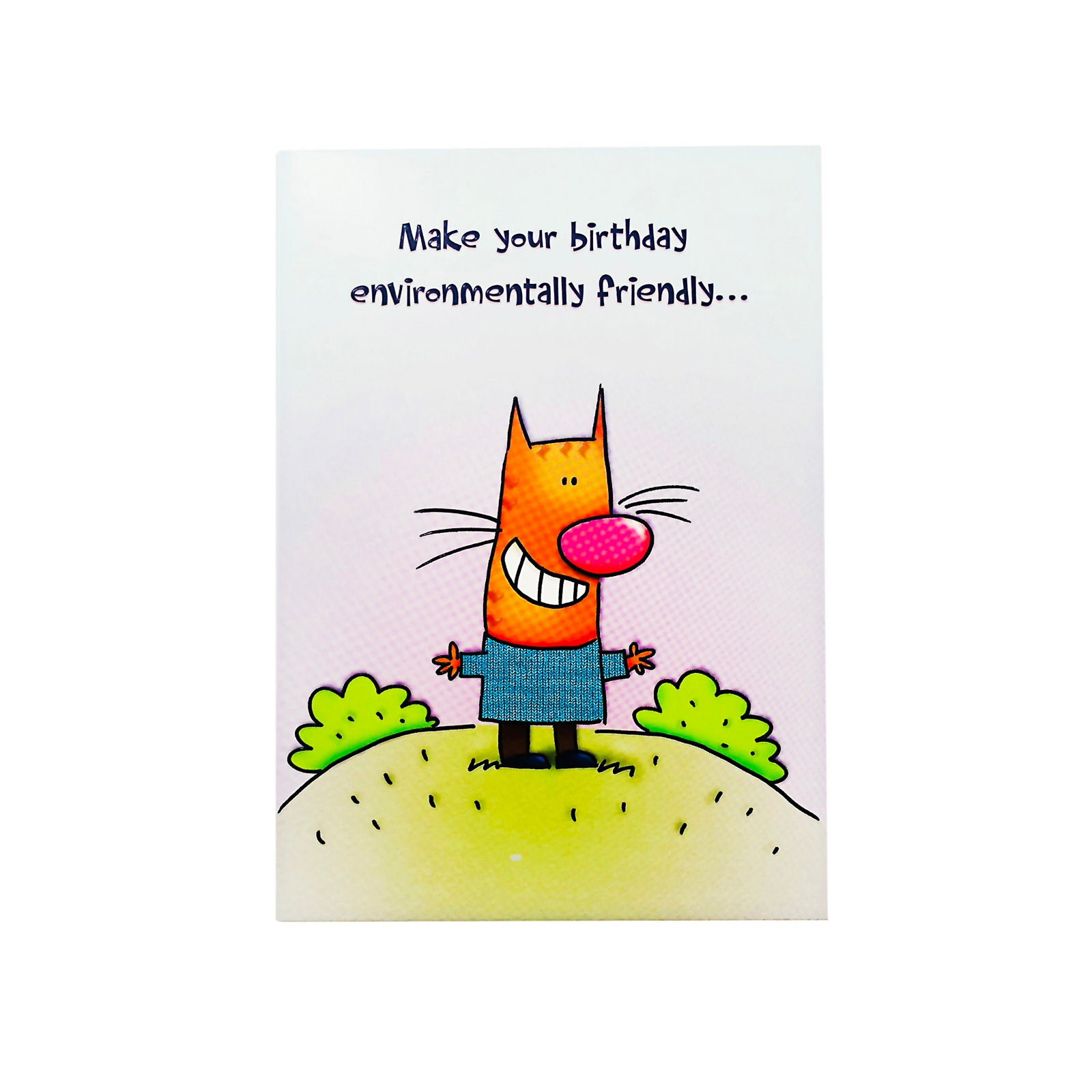 Designer Greetings Birthday Card - Make Your Birthday - Cat