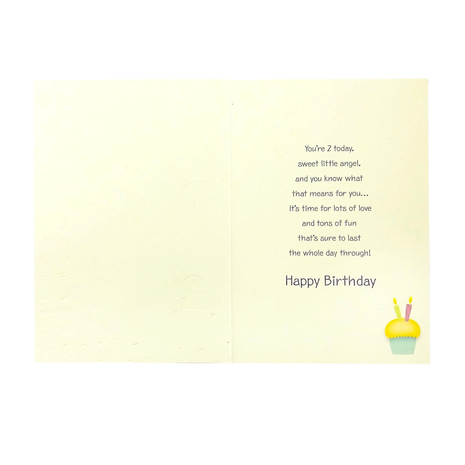 Designer Greetings Birthday Card Age 2 - It's Your 2nd Birthday - Elephant