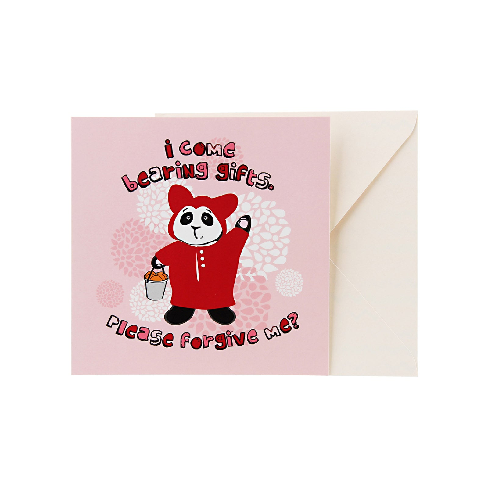 Sorry Card - Panda Bearing Gifts