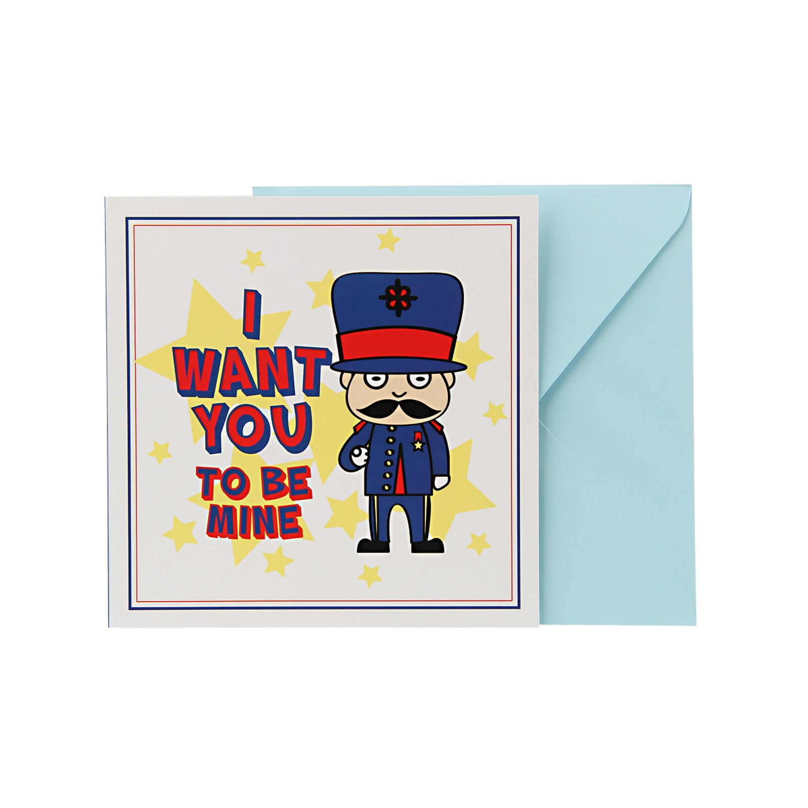 Love Card - I Want You Toy Soldier