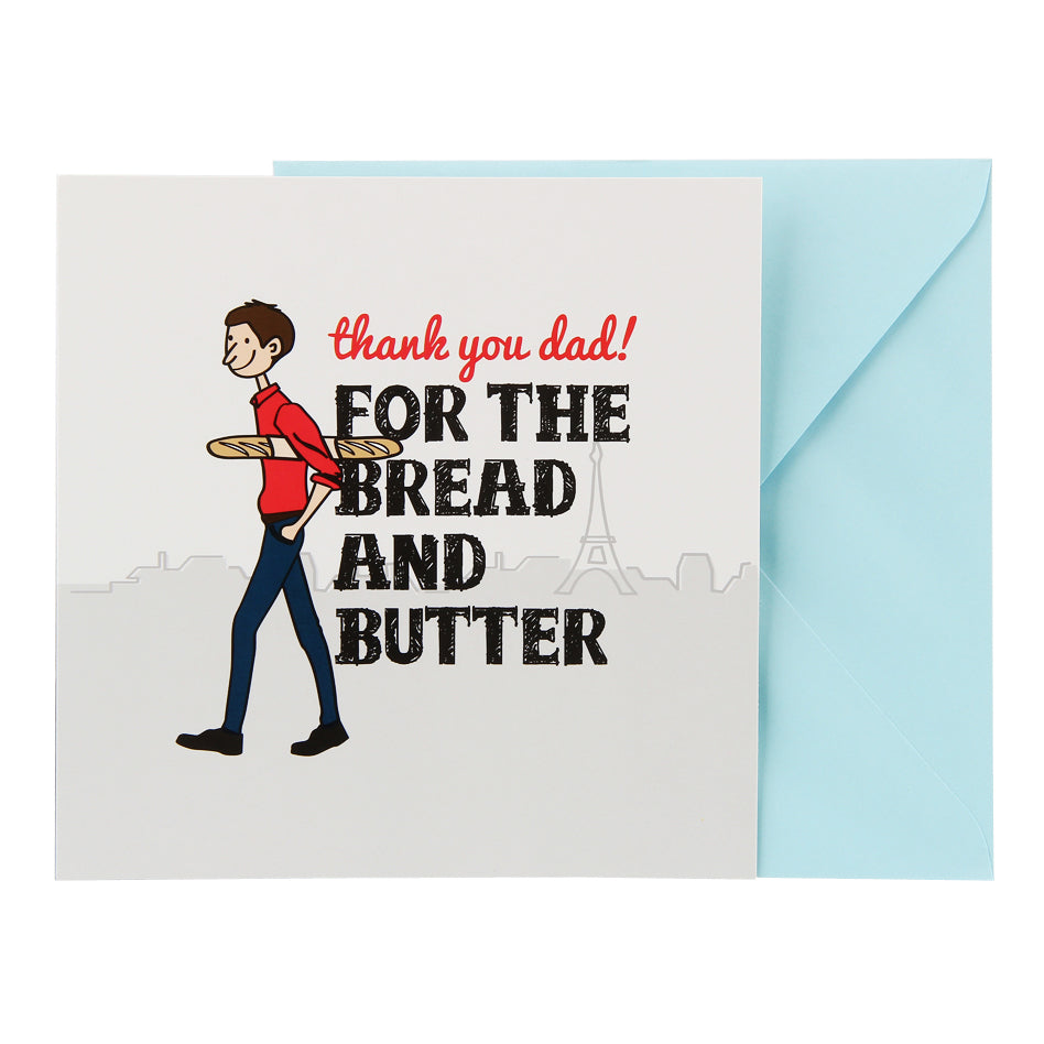 Dad Card - Bread and Butter