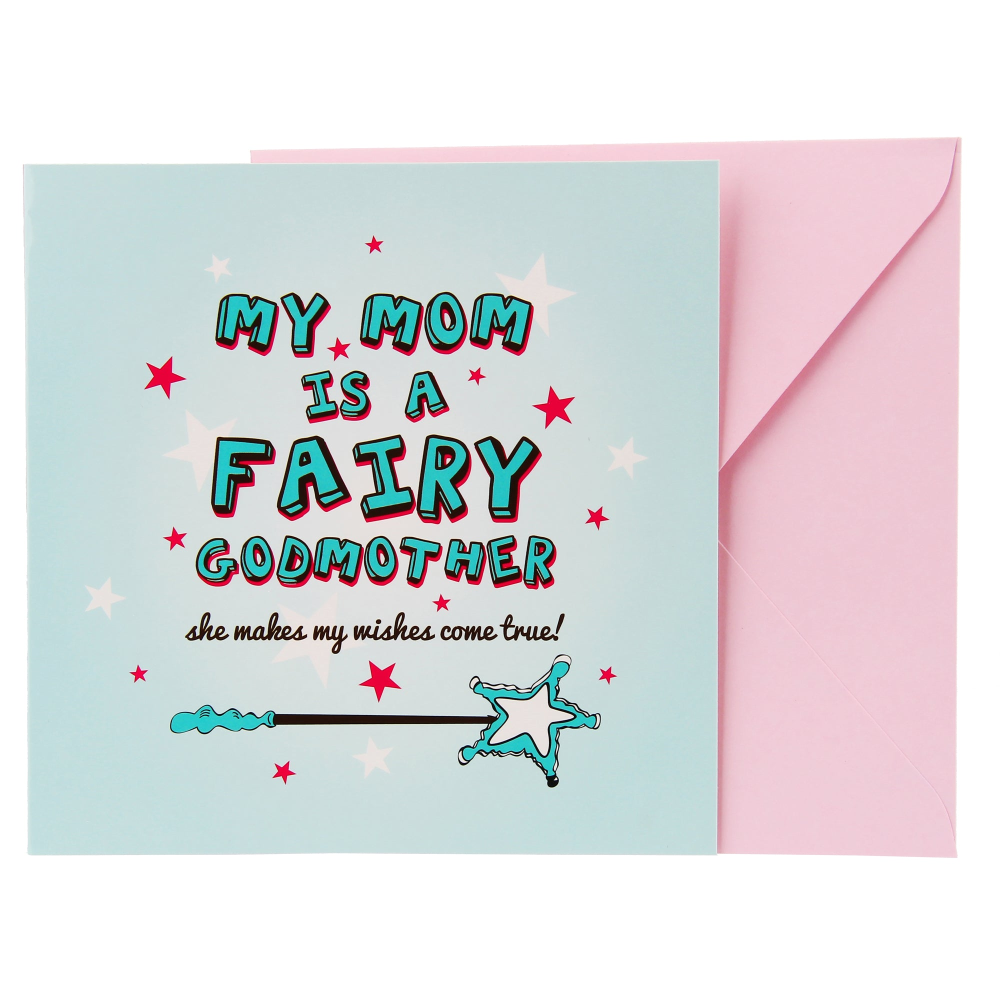 Mom Card - Fairy Godmother