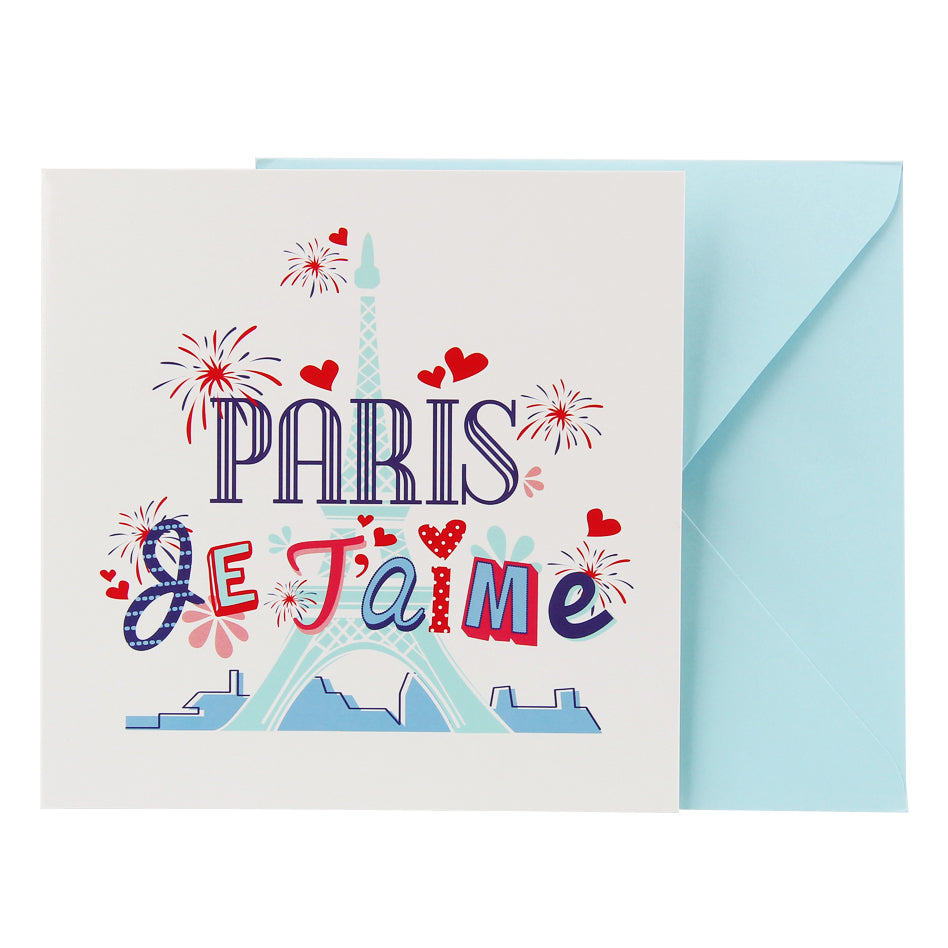 Blank Card - Jetaime Paris Eiffel Tower