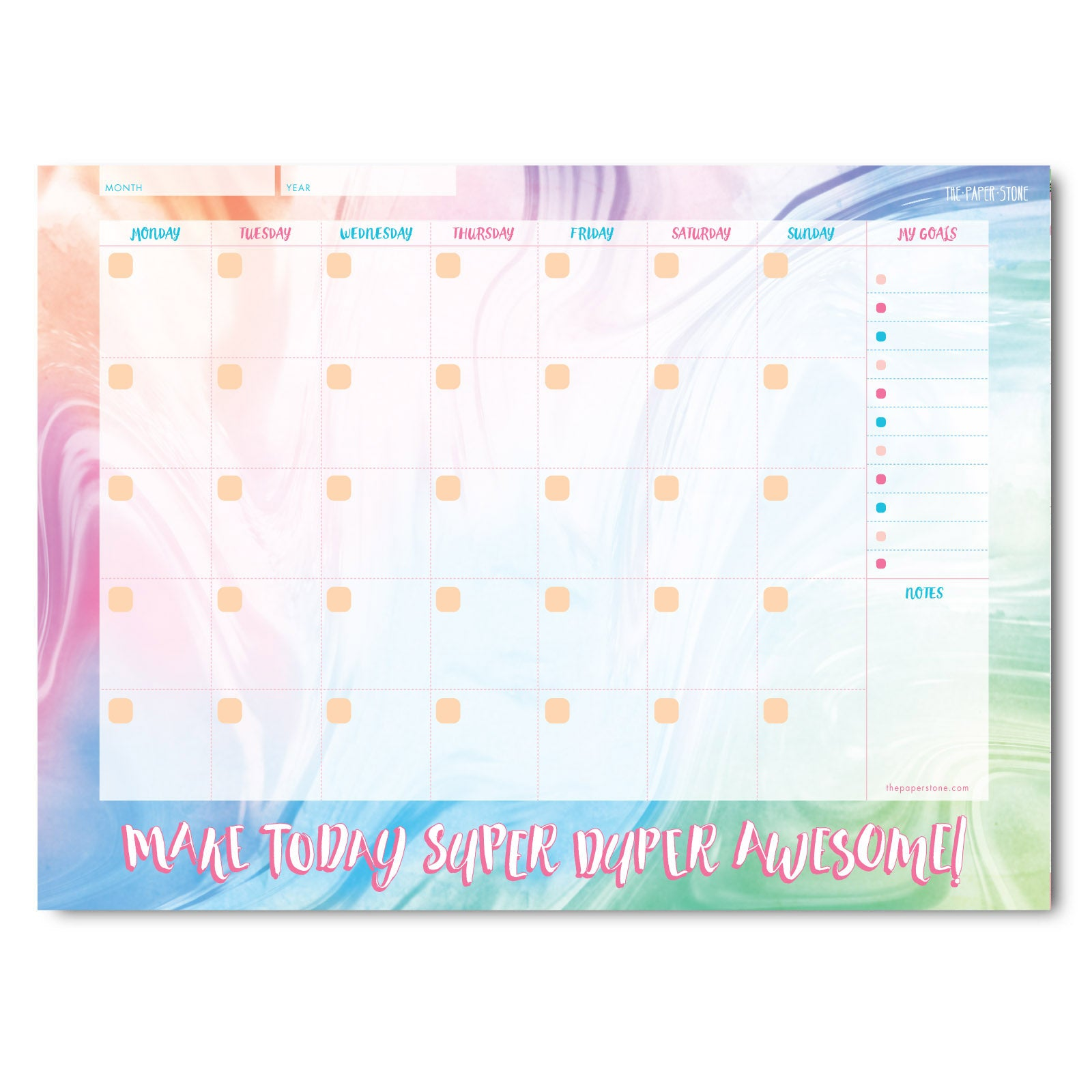 A4 Planner - Make Today Super Duper