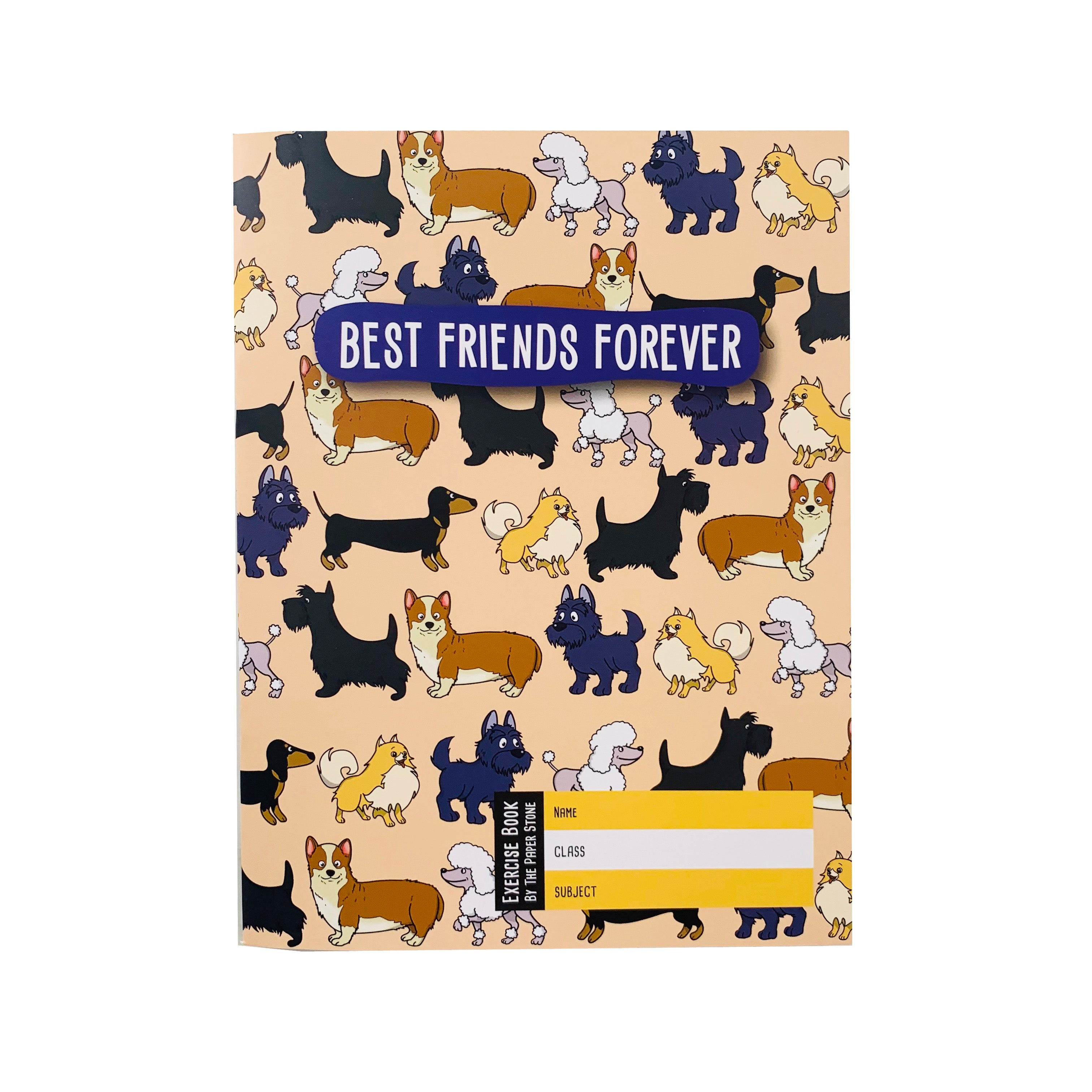 Exercise Book - Best Friends Dogs