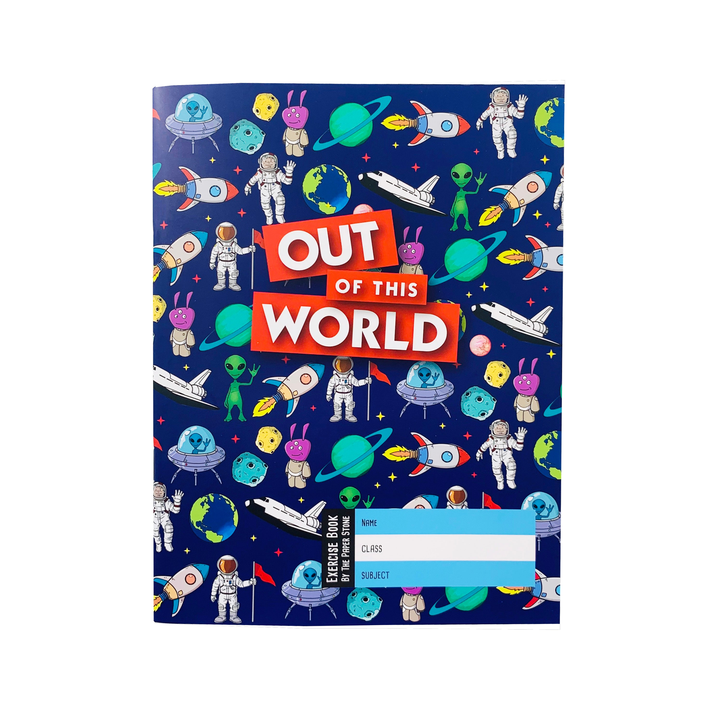 Exercise Book - Out of This World