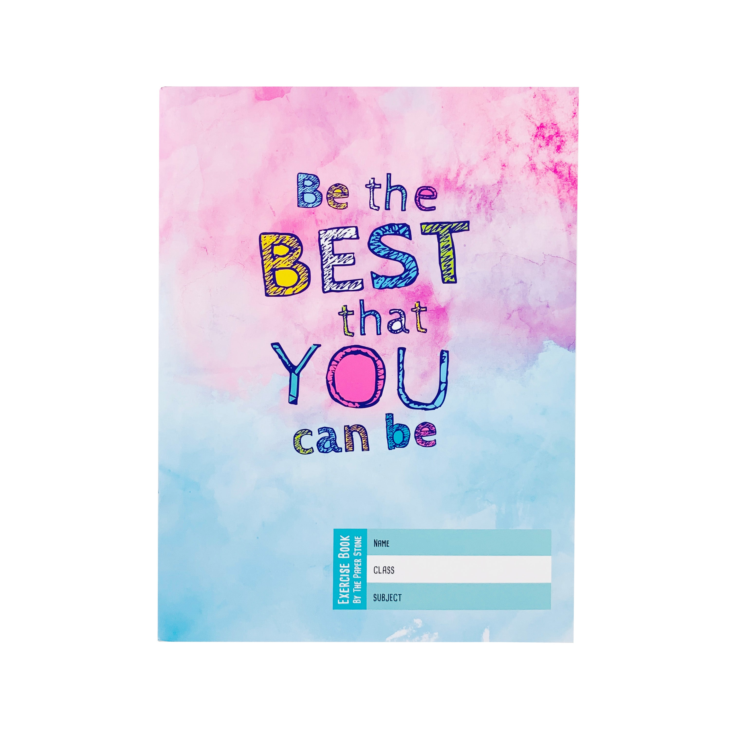 Exercise Book - Be The Best Watercolour