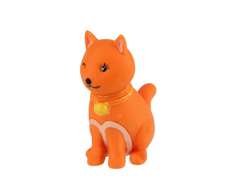 Animal Eraser - Cat - Orange