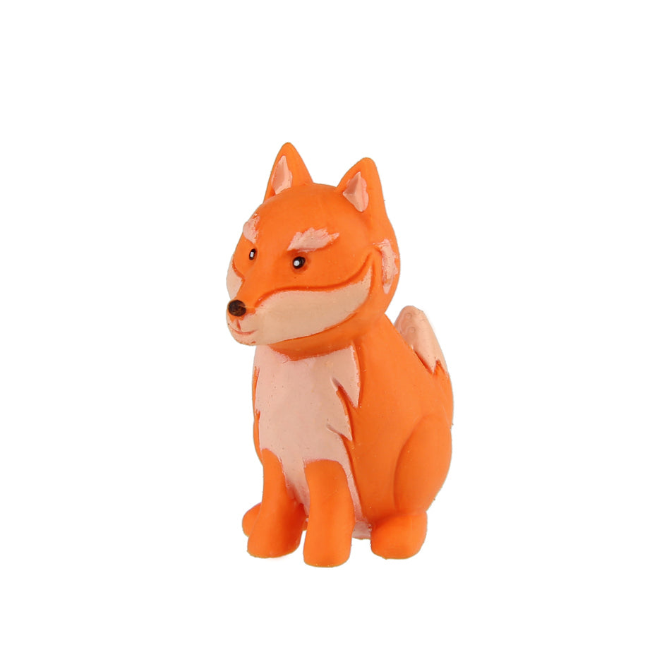 Animal Eraser - Wolf - Orange