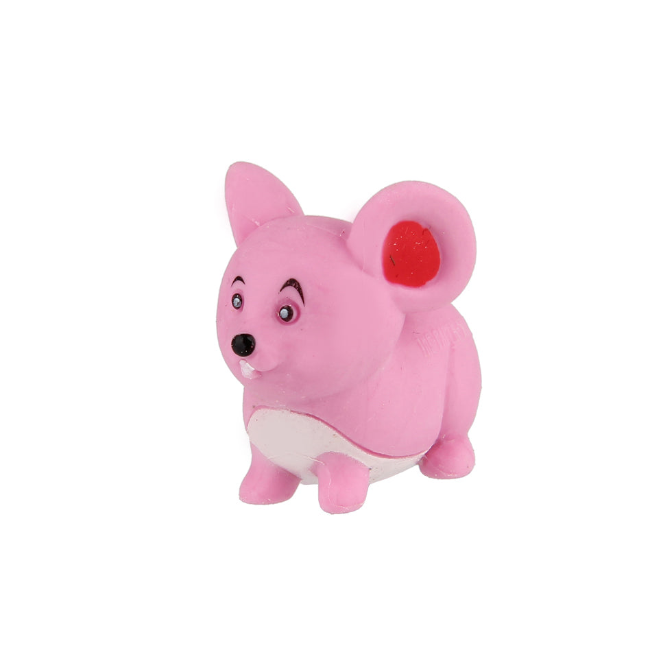 Animal Eraser - Mouse - Pink