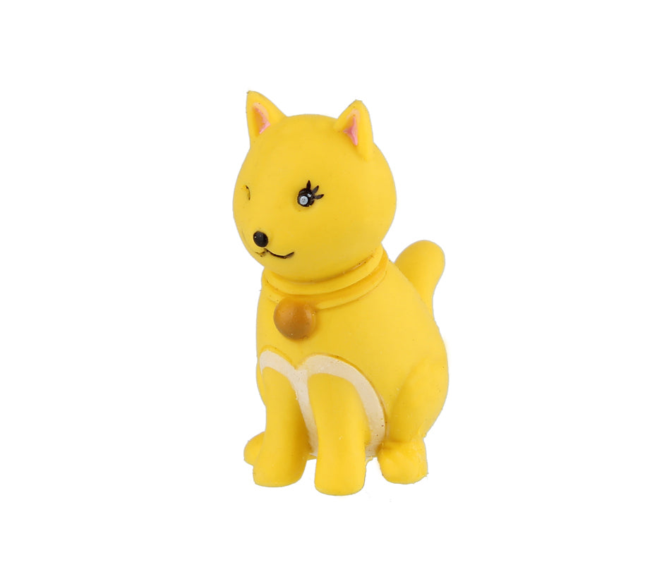 Animal Eraser - Cat - Yellow