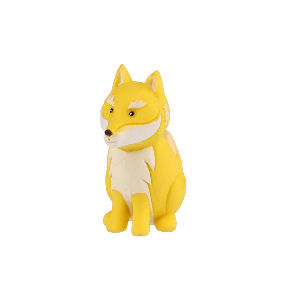 Animal Eraser - Wolf - Yellow