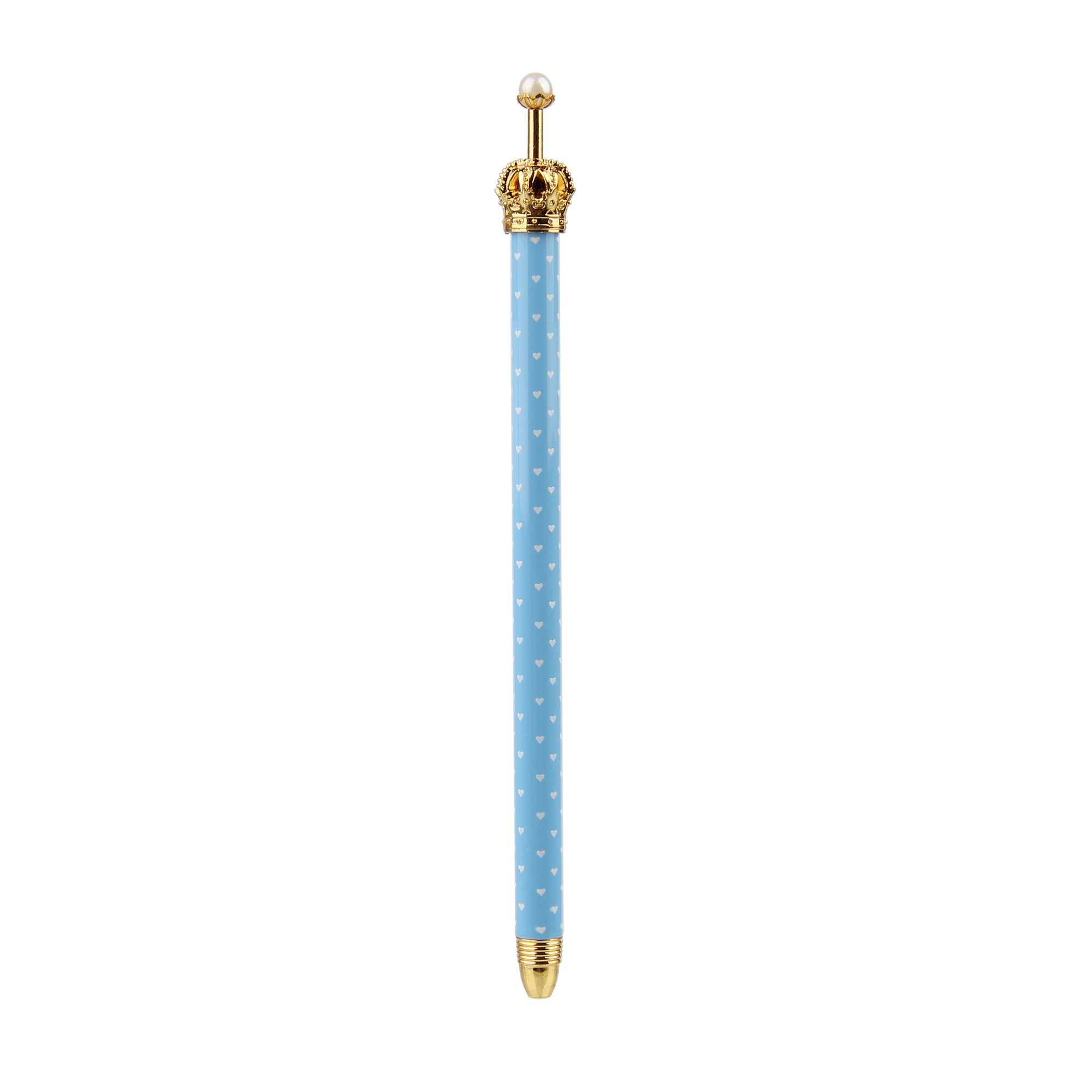 Crown Pen - Light Blue