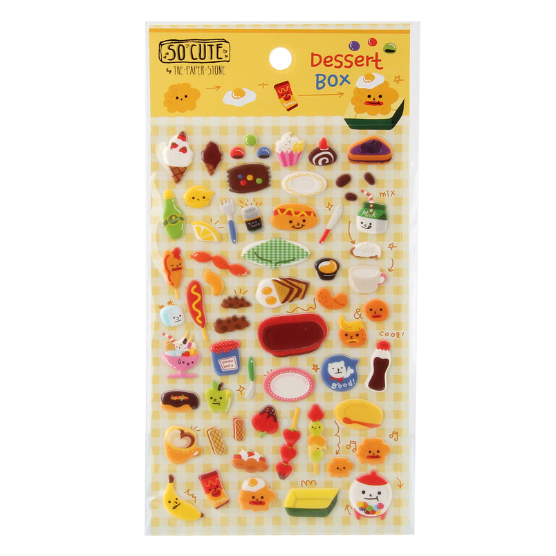 So-Cute Stickers - Dessert Box