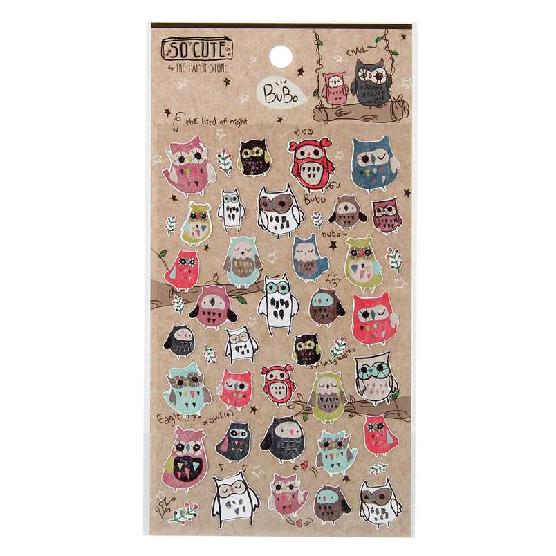 So-Cute Stickers - Bubo Owl