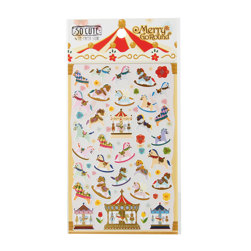 So-Cute Stickers - Merry Go Round
