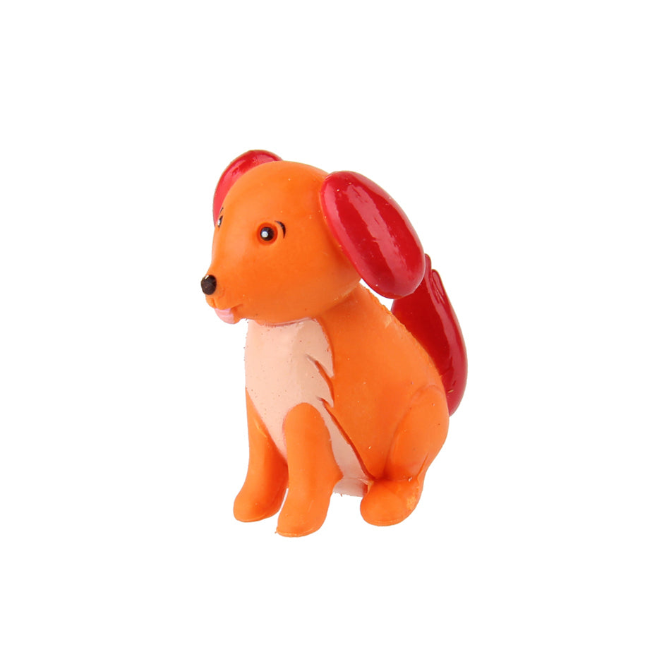 Animal Eraser - Dog - Orange
