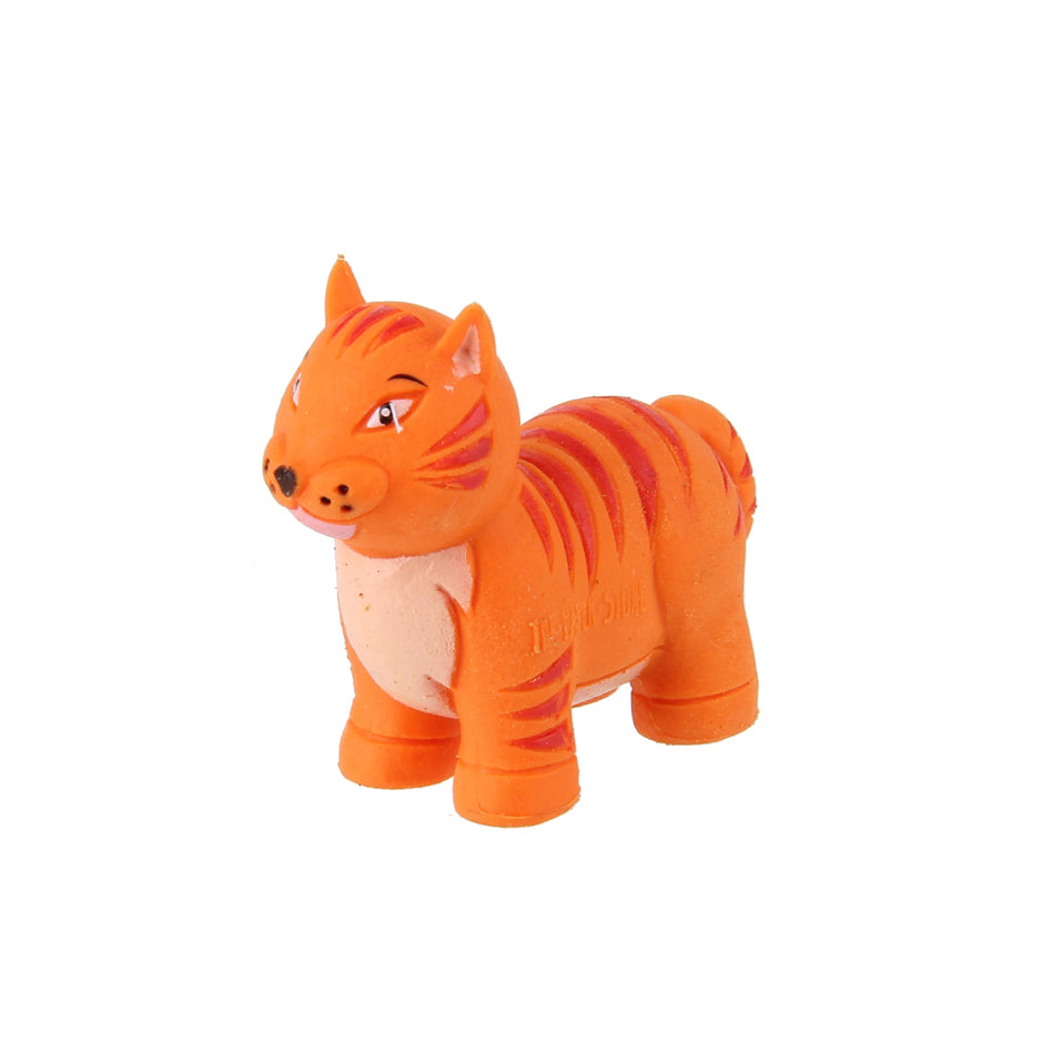 Animal Eraser - Tiger - Orange