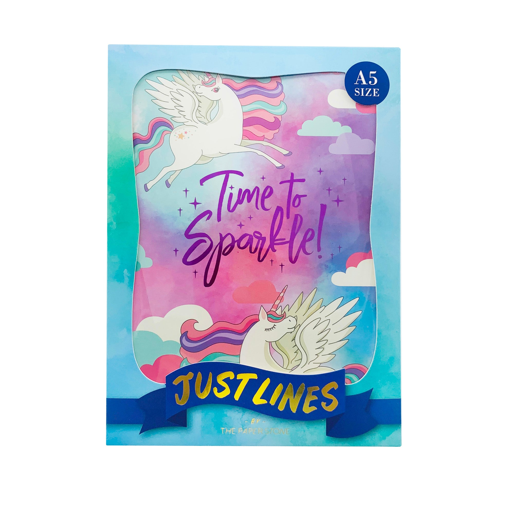 Just Lines - Time to Sparkle Unicorns