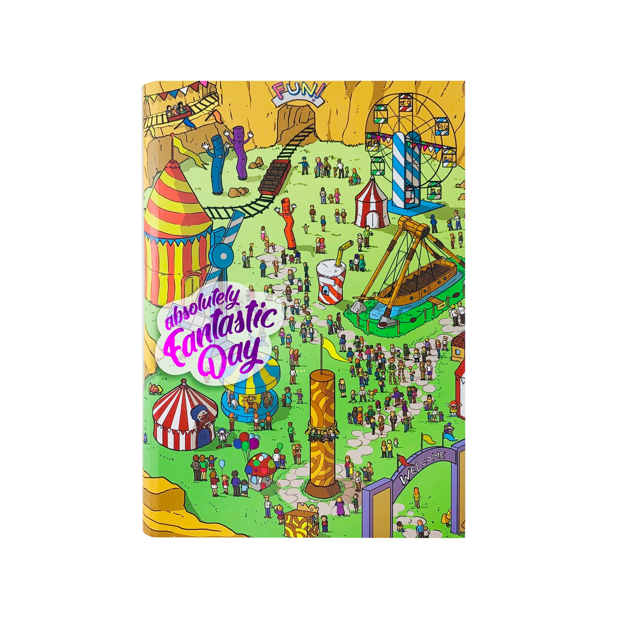Epic Journal - Fantastic Day Theme Park