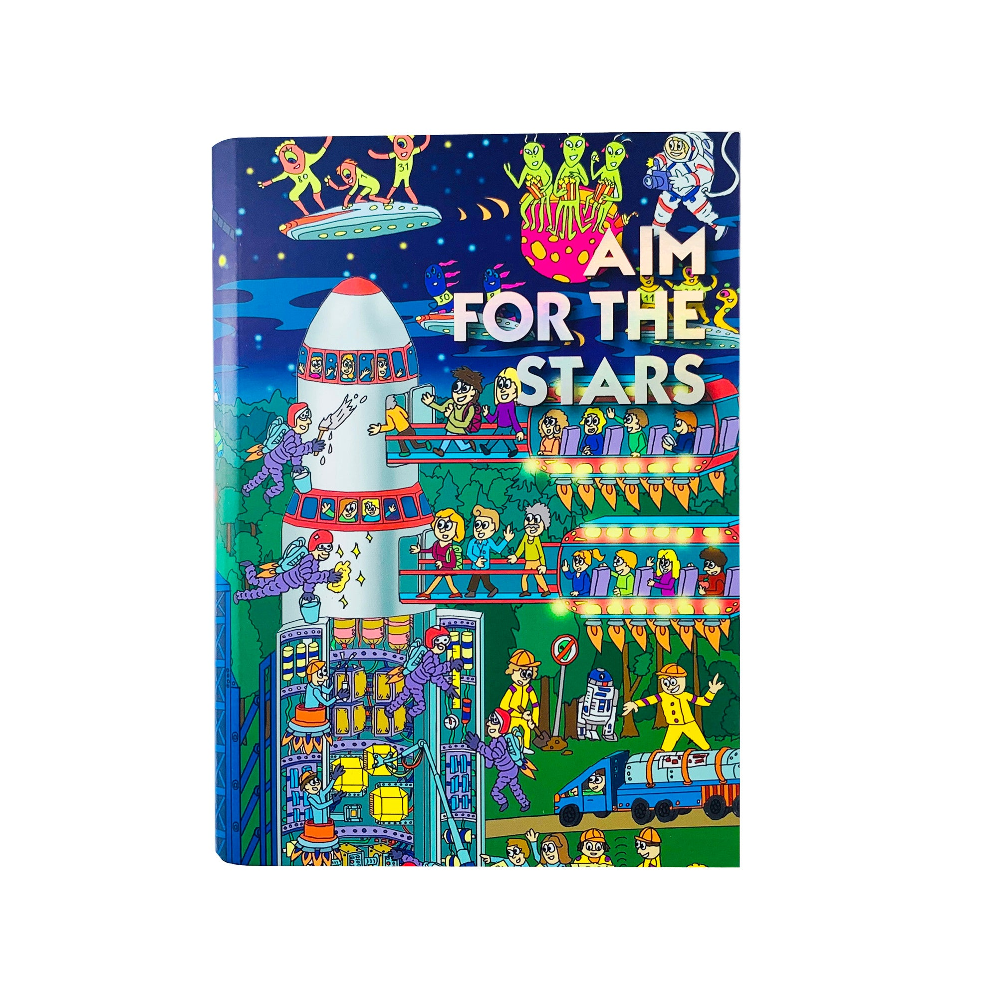 Epic Journal - Aim for the Stars Rocket