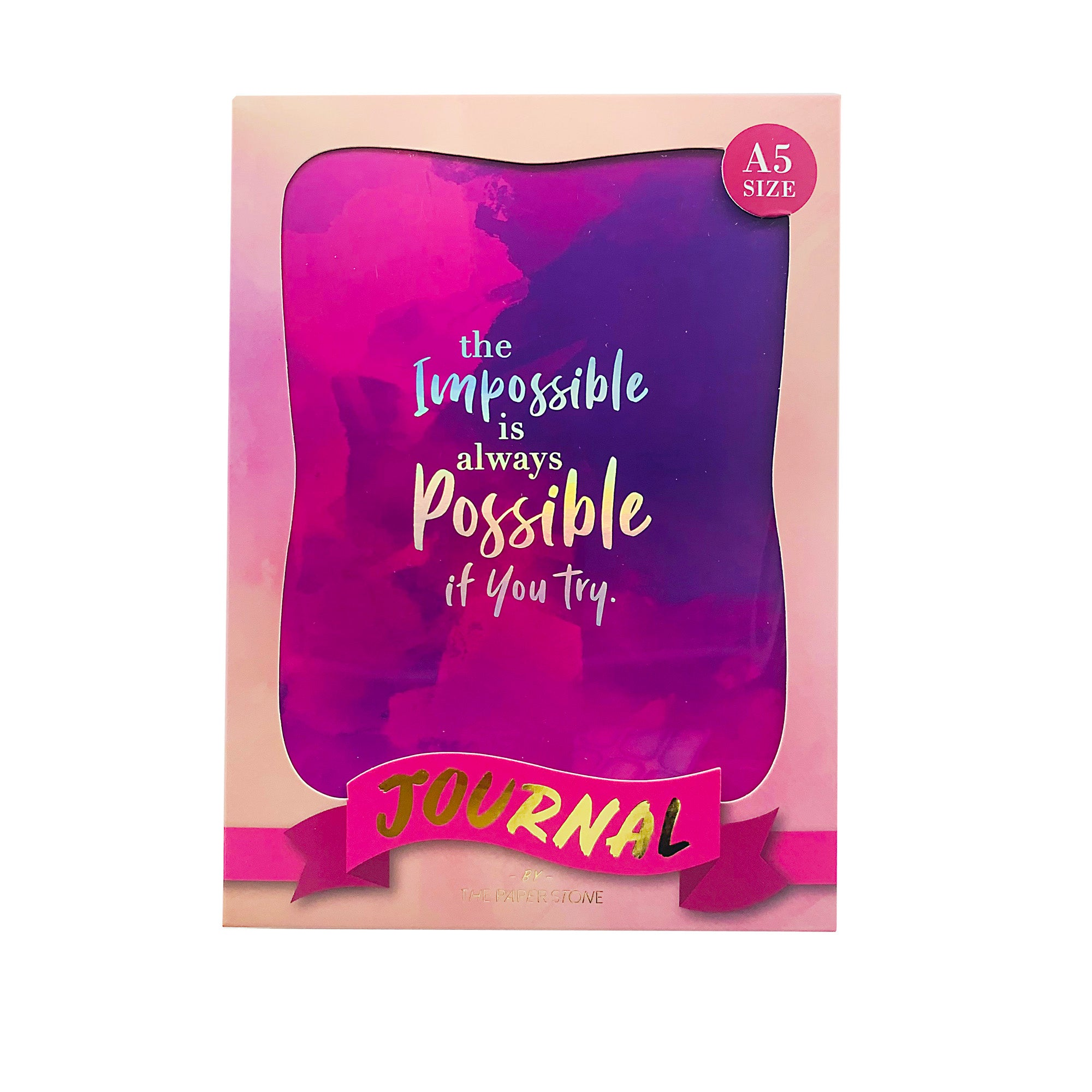 Journal - Impossible Possible Purple