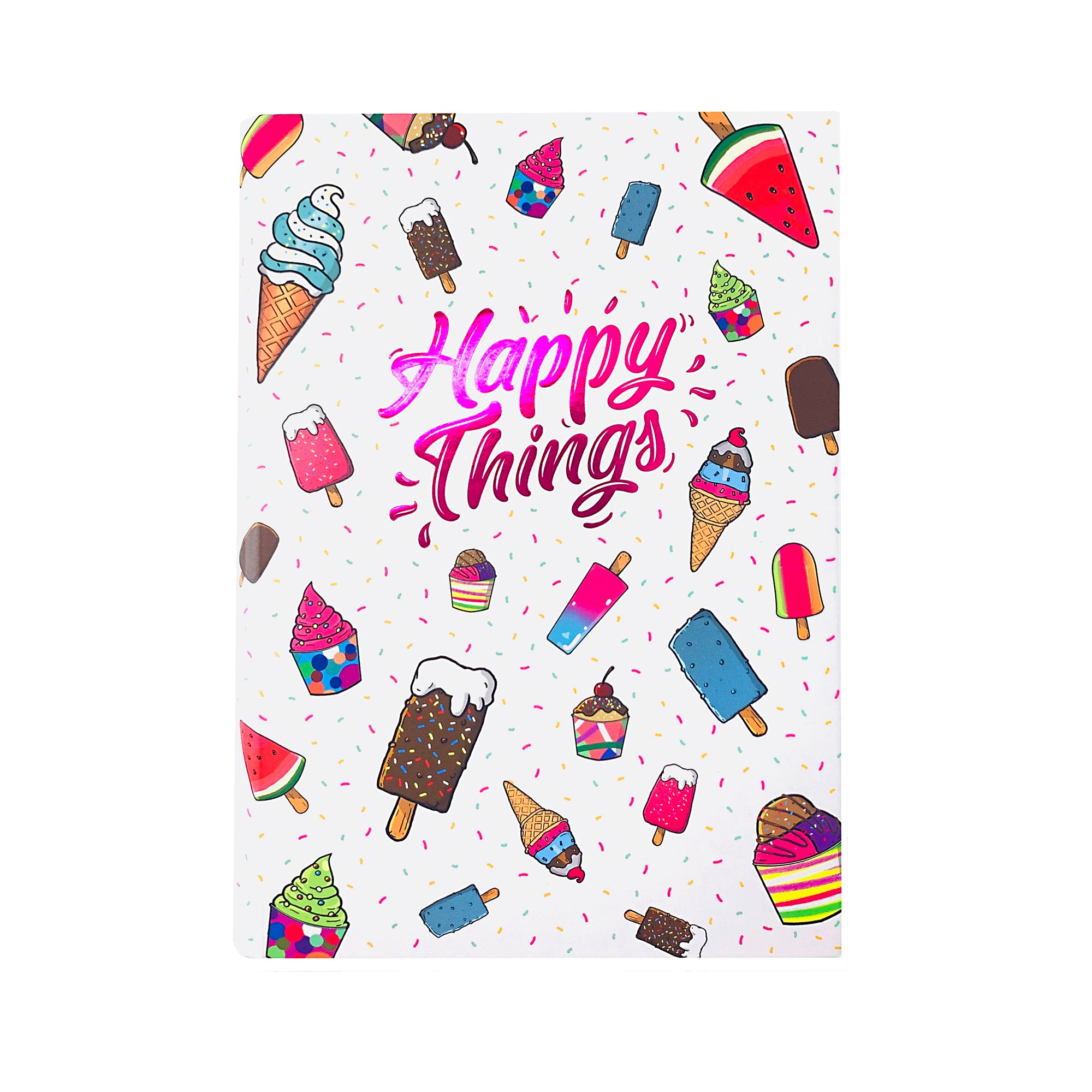 Journal - Happy Things Ice Cream