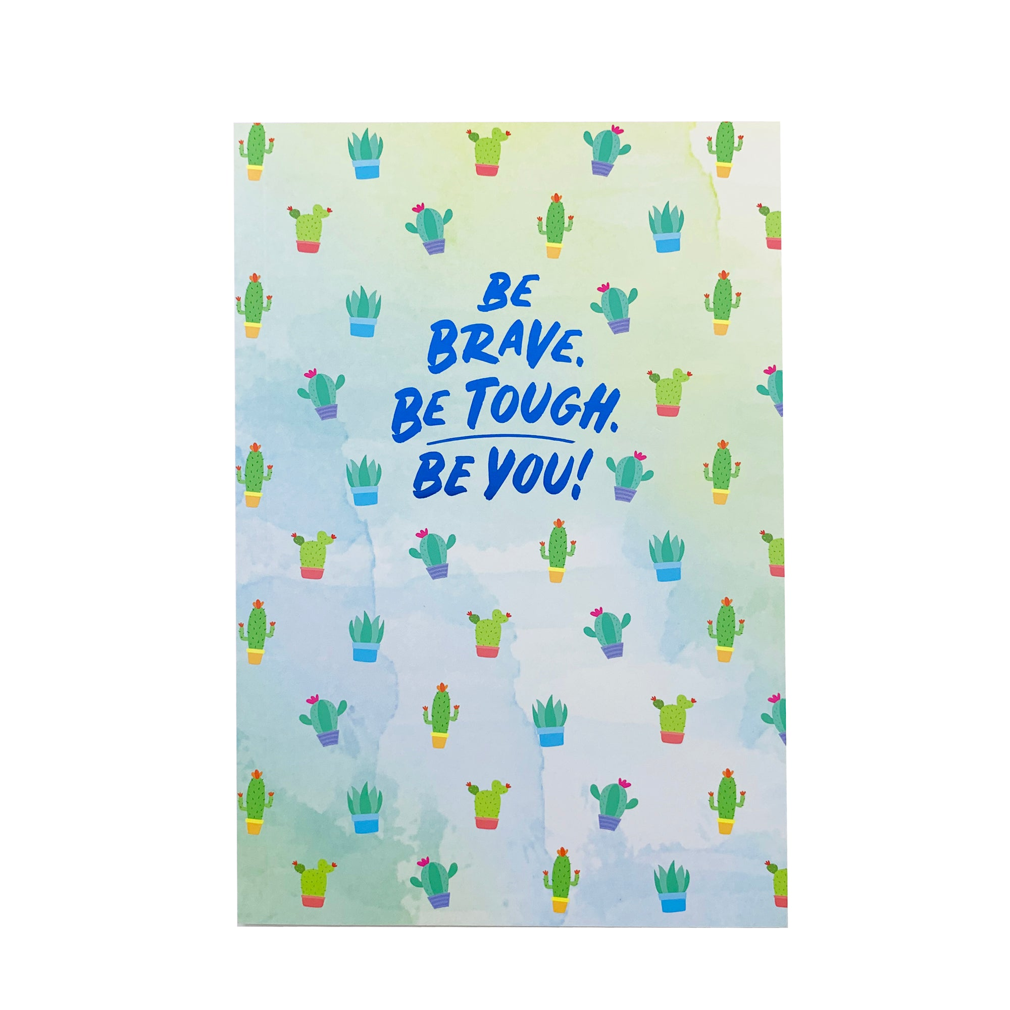 Notebook - Be Brave Cactus