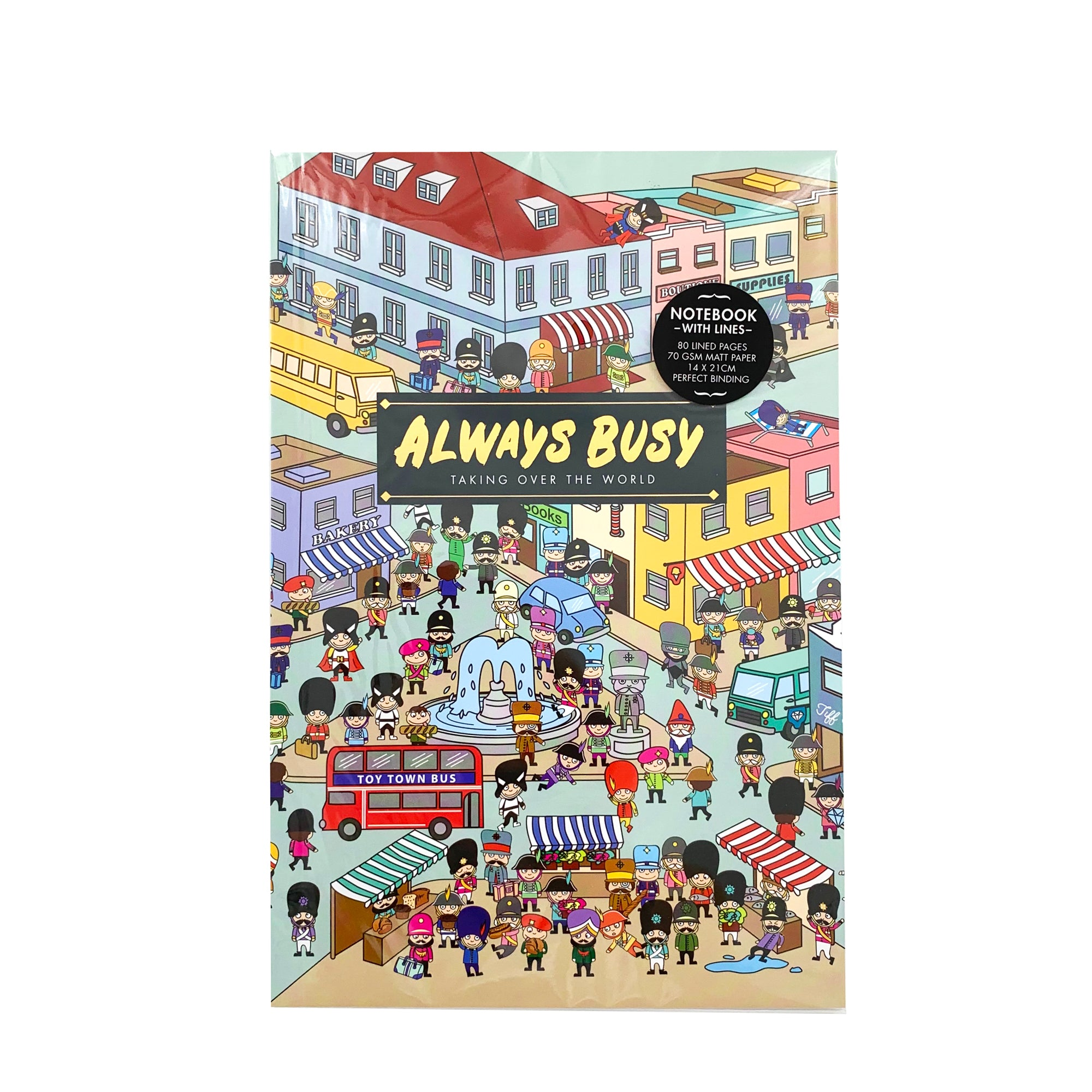 Notebook - Always Busy Toy Soldier Town