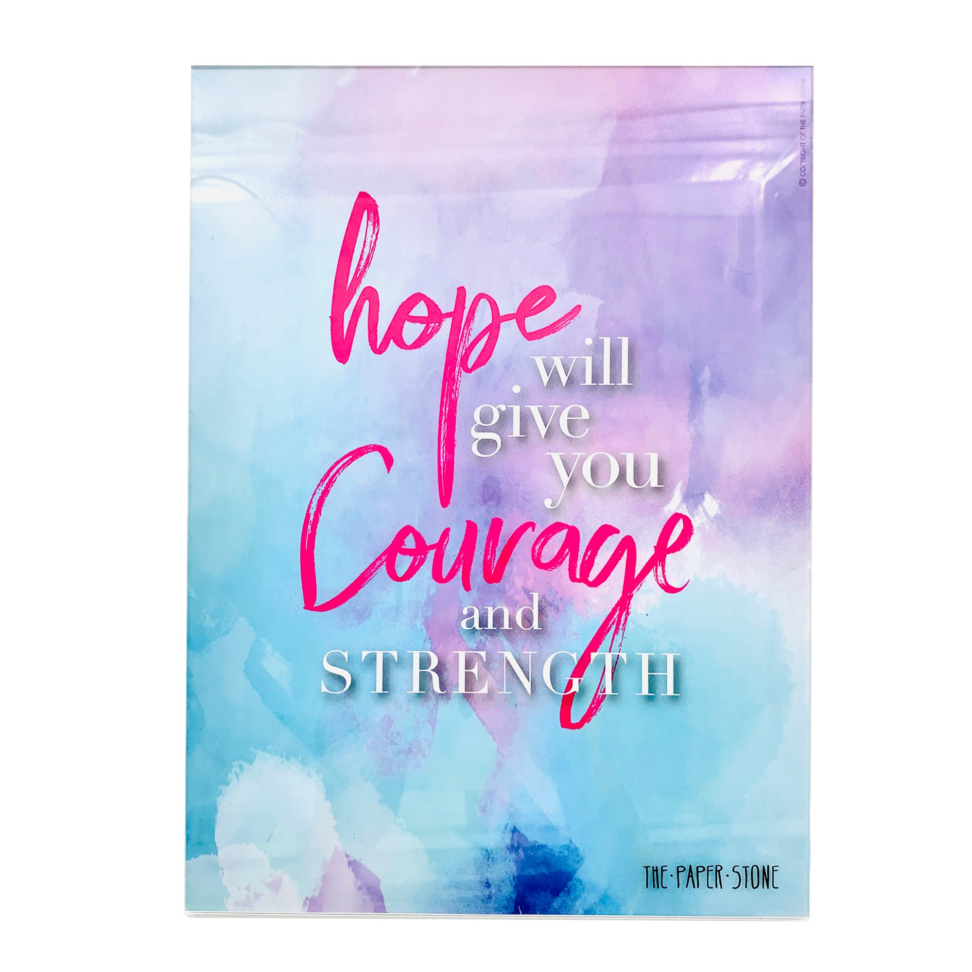 Acrylic Art - Hope Courage