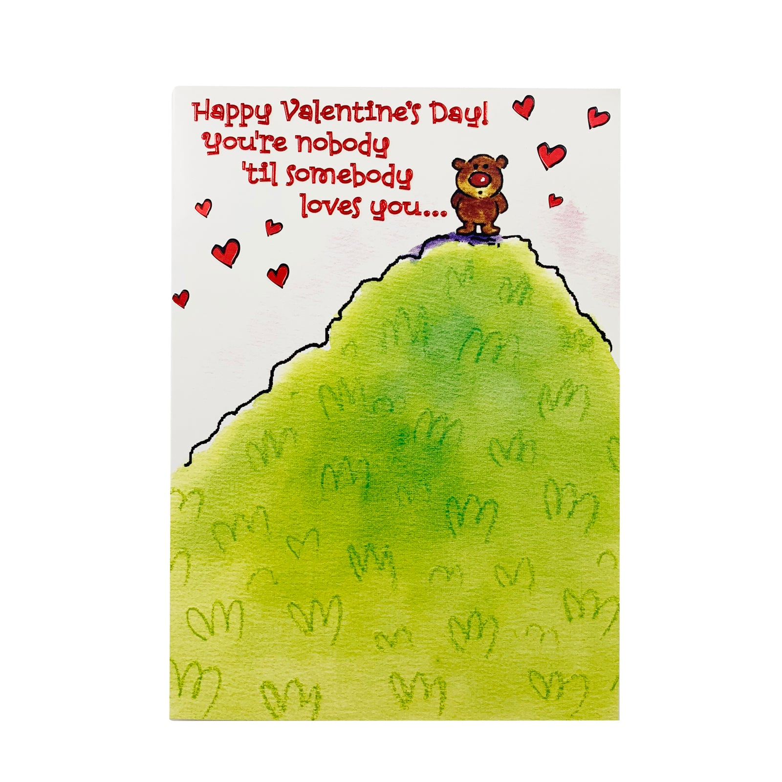 Designer Greetings Valentine's Day Card - Till Somebody Loves You
