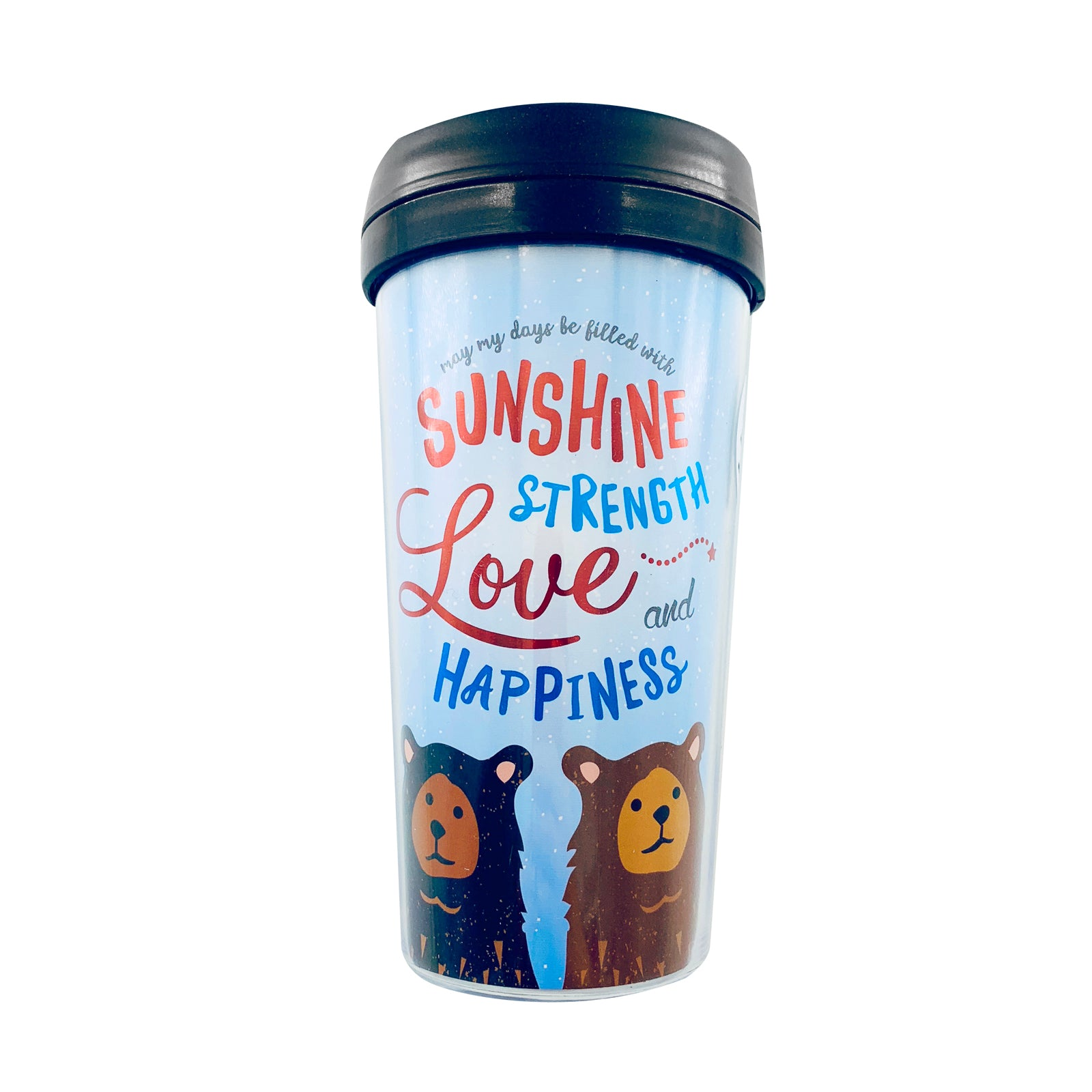 Tumbler - Love Happiness Bears