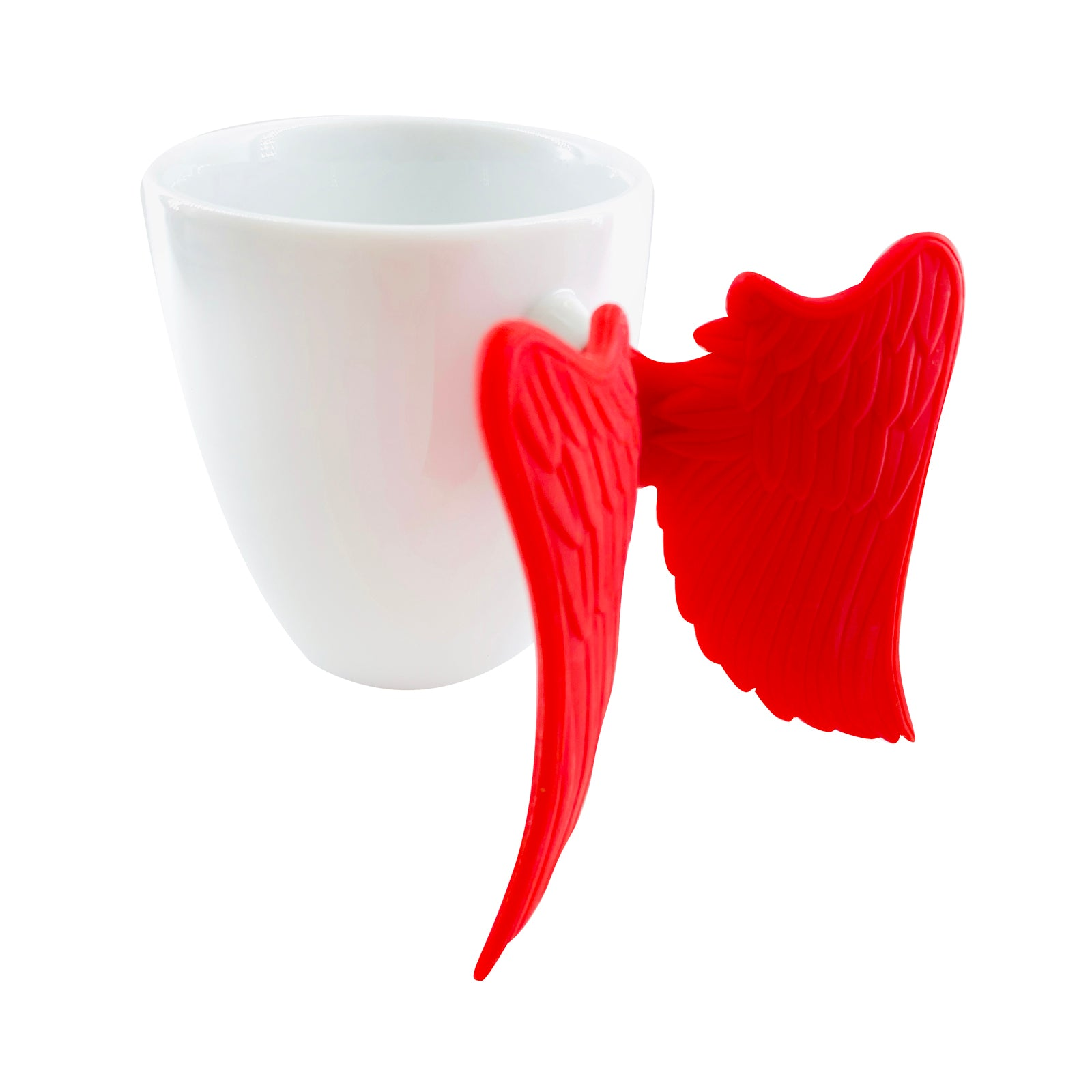 Inspirational Pen Cup - Girl Boss - Red Wings