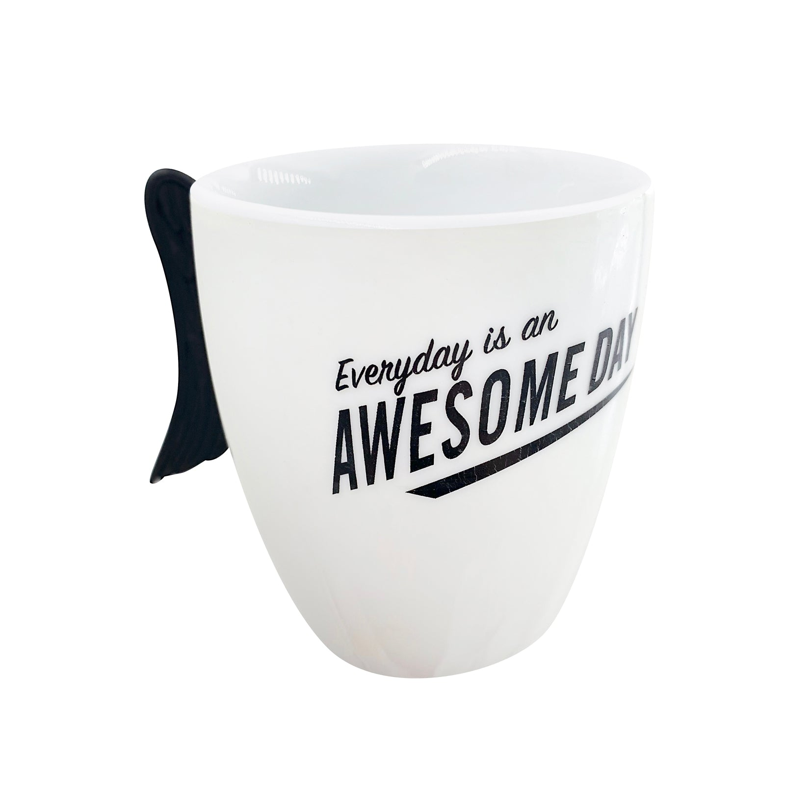 Inspirational Pen Cup - Awesome Day - Black Wings