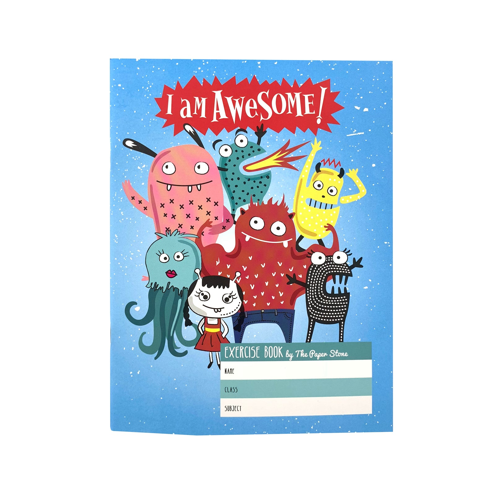 Exercise Book - Awesome Monsters