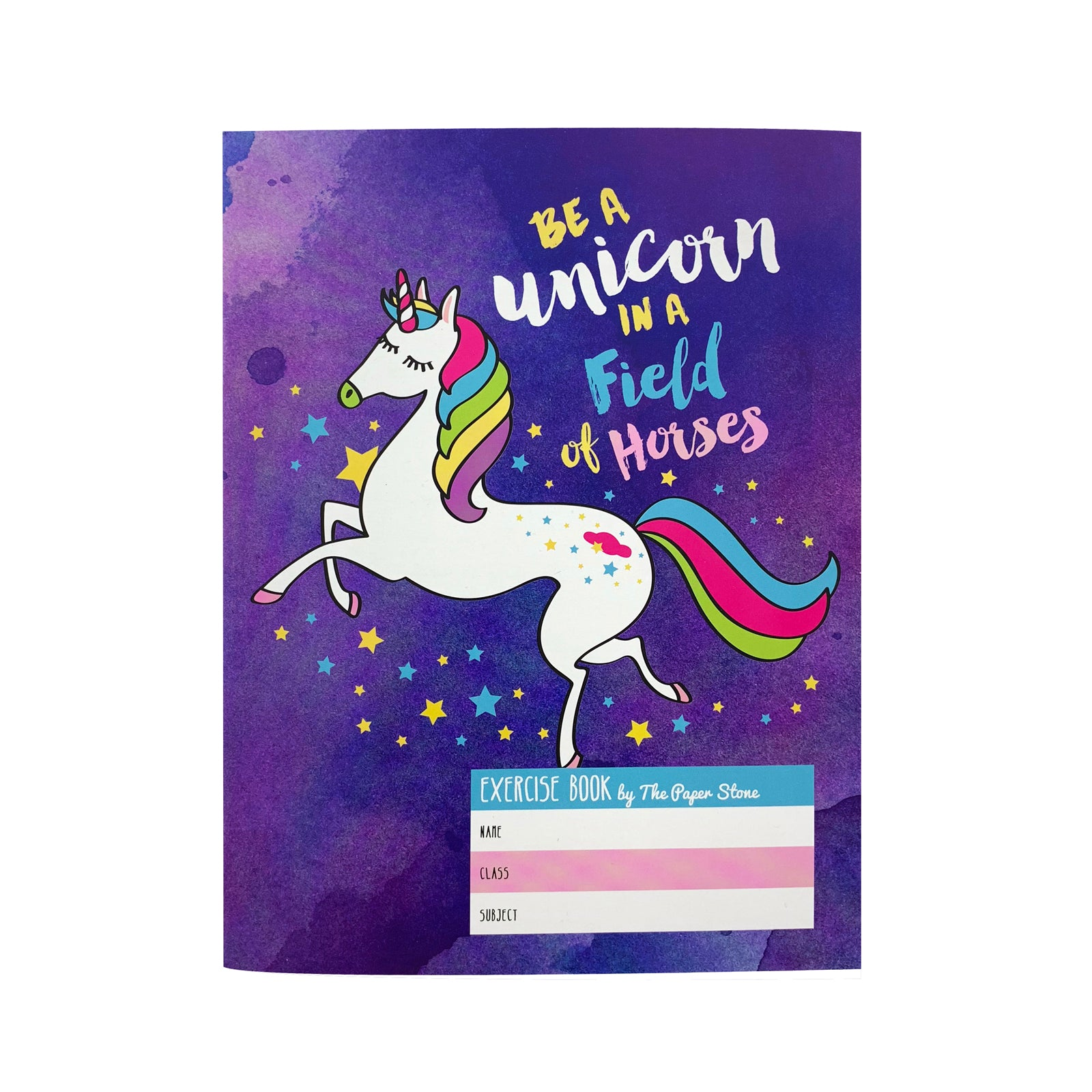 Exercise Book - Be A Unicorn