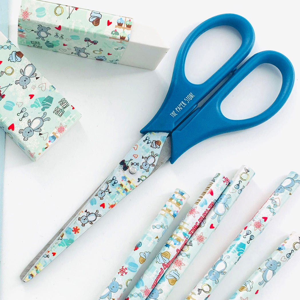 Scissors - Teddy Candy - Blue