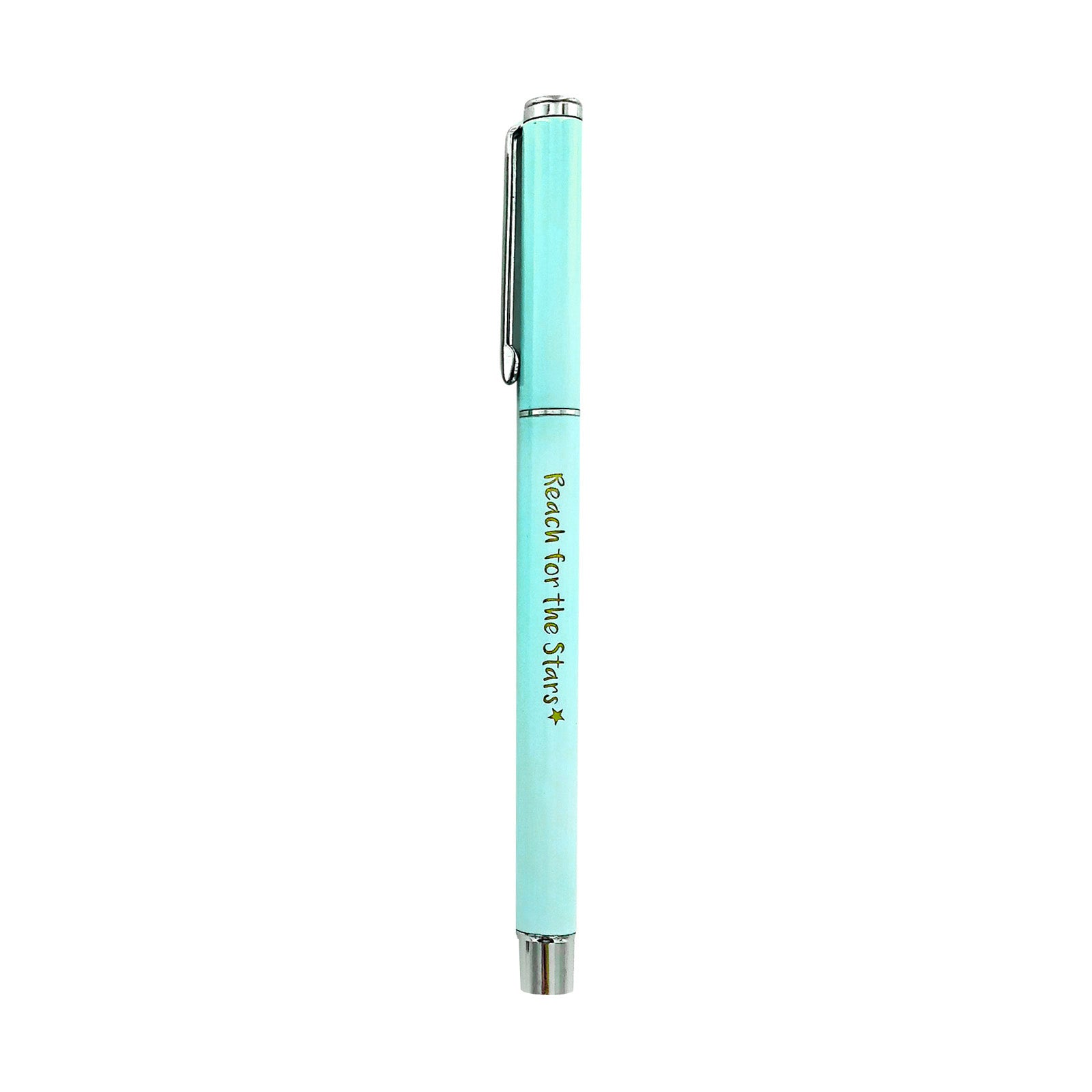 Metal Pen - Reach For The Stars - Turquoise