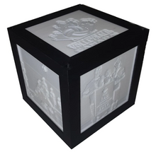 Load image into Gallery viewer, 4 x 4 Cube Lamp with 4 Pictures