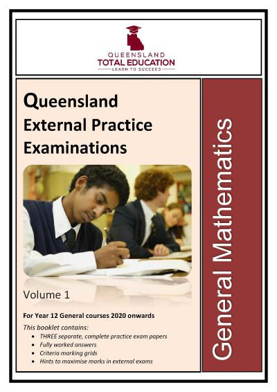 General Mathematics Practice External Exams Vol 1