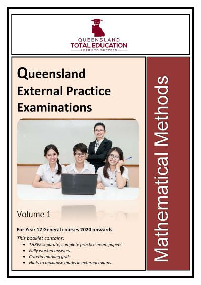 Mathematical Methods Practice External Exams Vol 1