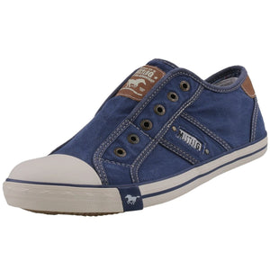 Mustang 1099-401-841 Laceless Denim Blue