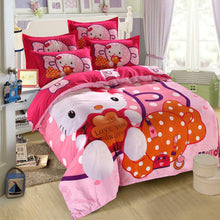 Load image into Gallery viewer, Kids Hello Kitty NEW 2021 COLLECTION Bedding Duvet Cover Bedding Set Twin Full/Queen