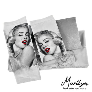 Marilyn Monroe 3D Bedding Set 4PC Queen King Size Duvet 100% Cotton Quilt Cover