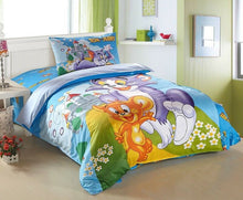 Load image into Gallery viewer, 100% Cotton Twill Disney Kids Bedding Quilt Duvet Cover Set Single Twin 3-Piece Bedding Set