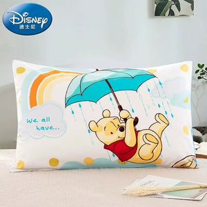 100% COTTON Disney Kids Pillowcase Cushion Cover - PAIR (2 Pieces)