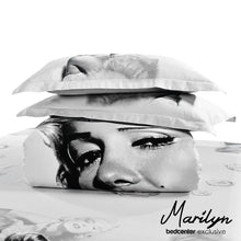 Load image into Gallery viewer, Marilyn Monroe 3D Bedding Set 4PC Queen King Size Duvet 100% Cotton Quilt Cover