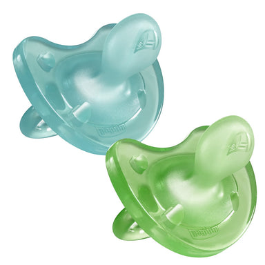 Chicco Physio Soft 6-12m Soother Boy 2 Pack